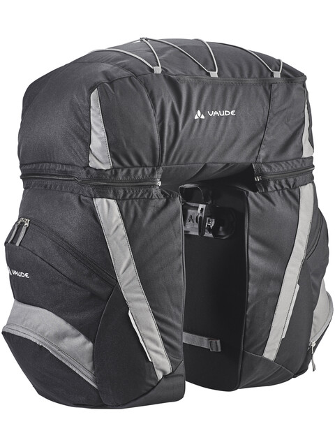 VAUDE SE Traveller Comfort 2 Bike Bag black/anthracite